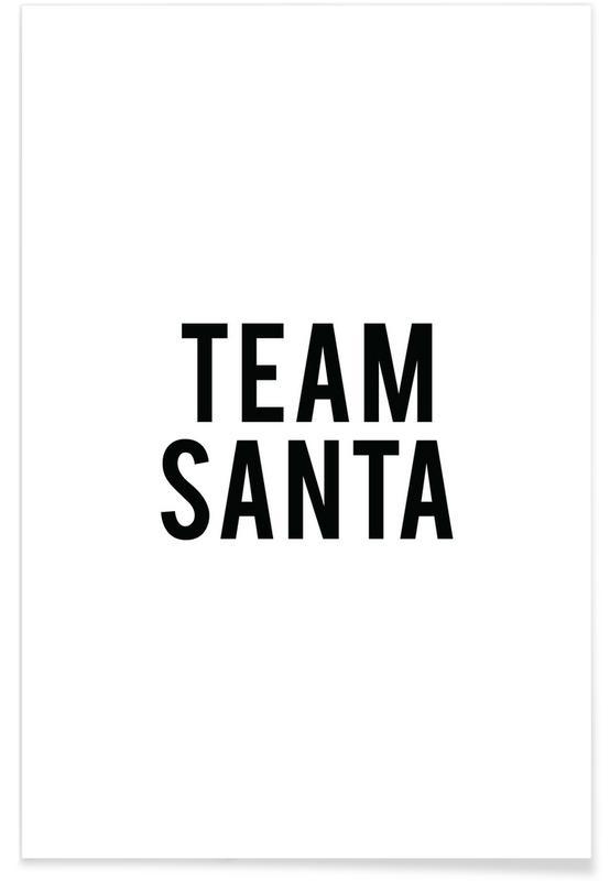 Team Santa poster