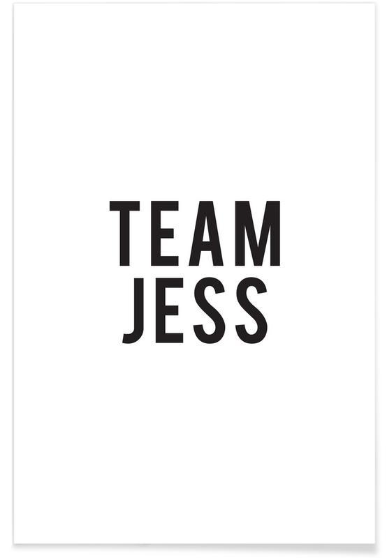 Team Jess Poster