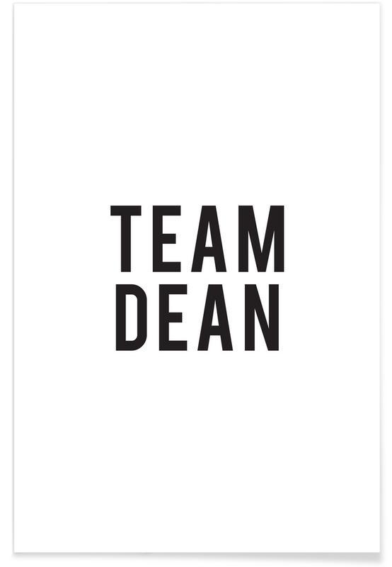 Team Dean poster