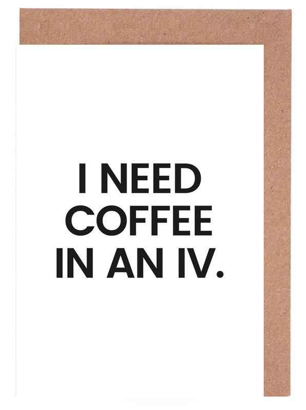Coffee Grußkartenset