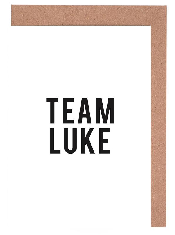 Team Luke cartes de vœux