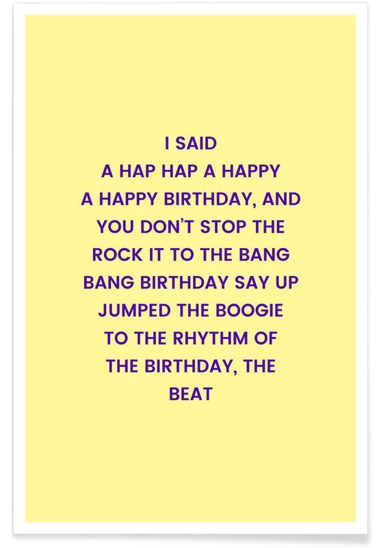 Birthday's Delight poster