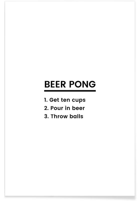 Beer Pong Recipe poster