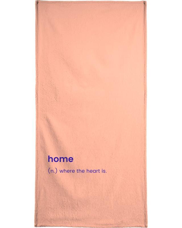For the New Home serviette de plage