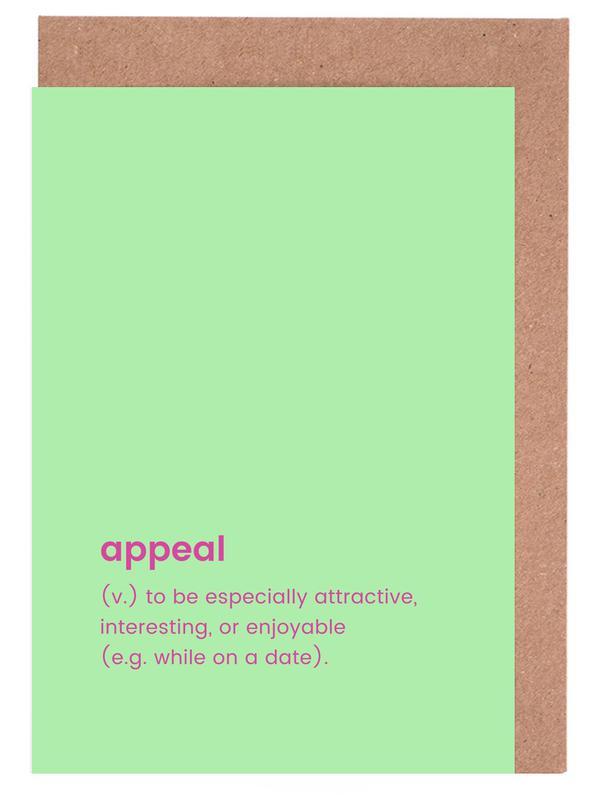 Appeal Grußkartenset