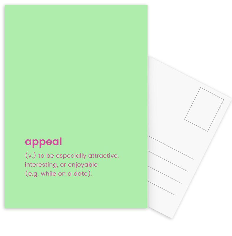 Appeal Postkartenset