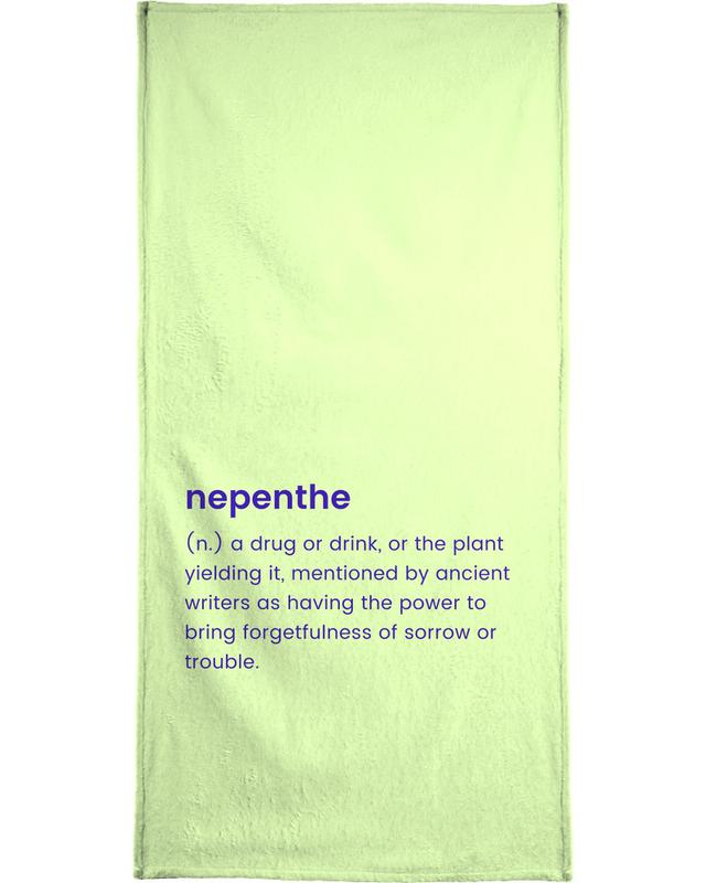 Nepenthe Beach Towel