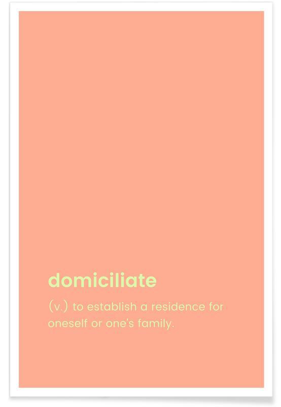 Domiciliate poster
