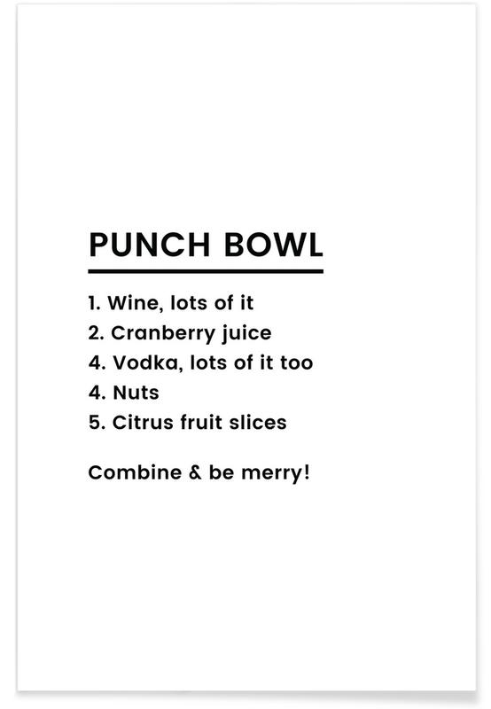 Punch Recipe poster