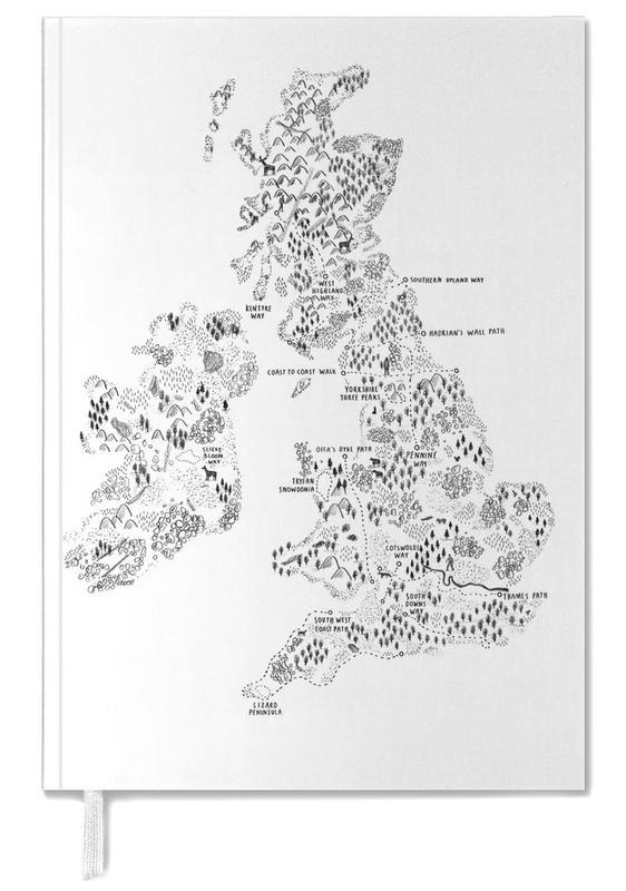 UK & Ireland Walking Personal Planner