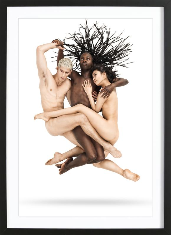 Dance, Dance, Dance 21 -Bild mit Holzrahmen