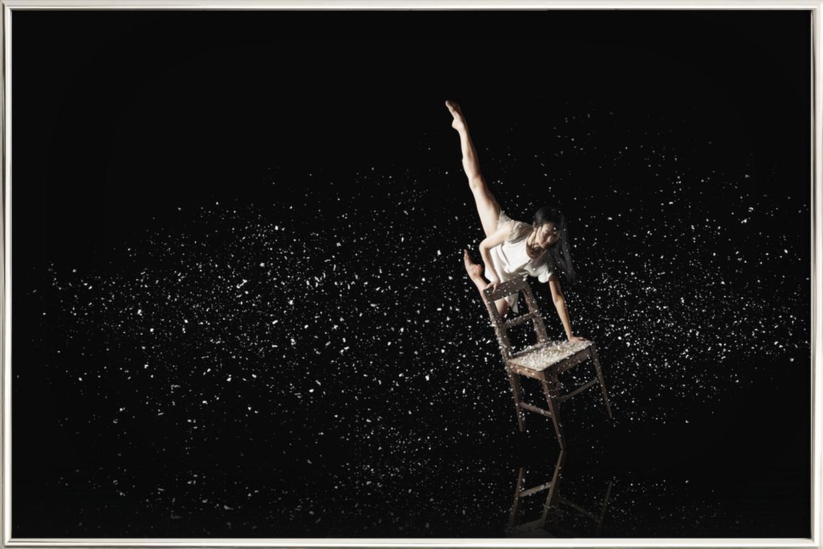 Dance, Dance, Dance 34 -Poster im Alurahmen