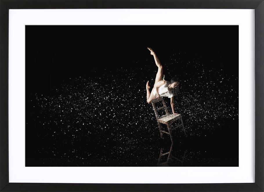 Dance, Dance, Dance 35 -Bild mit Holzrahmen