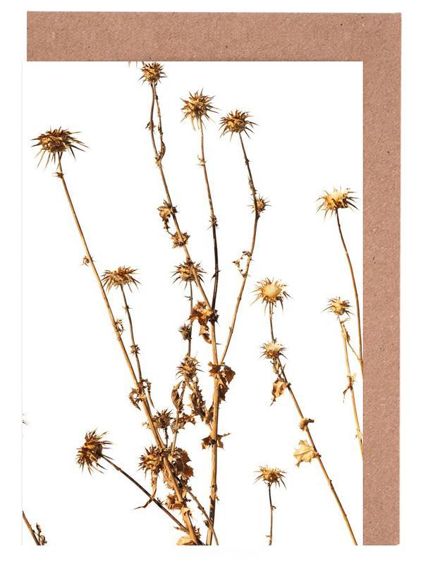 Flora Mariendistel Grußkartenset