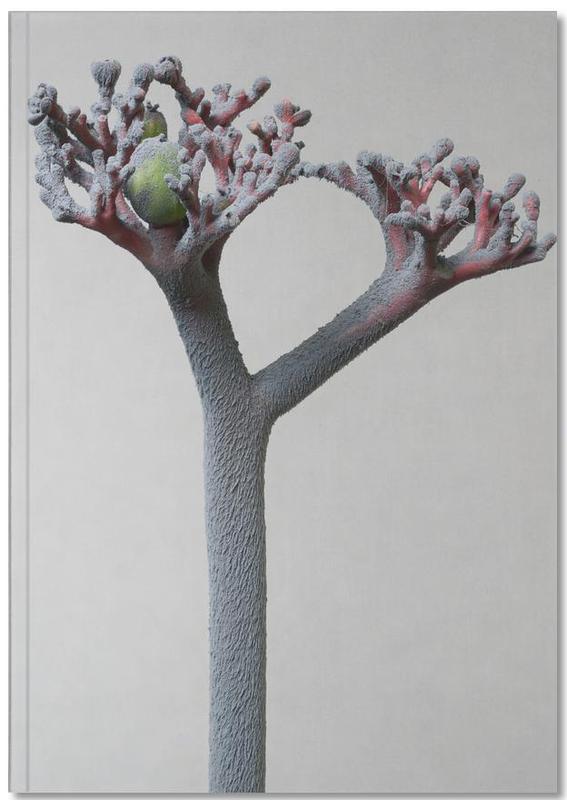 Staub Korallenblume Premium Notizbuch | Dekoration > Accessoires | Mehrfarbig | Papier