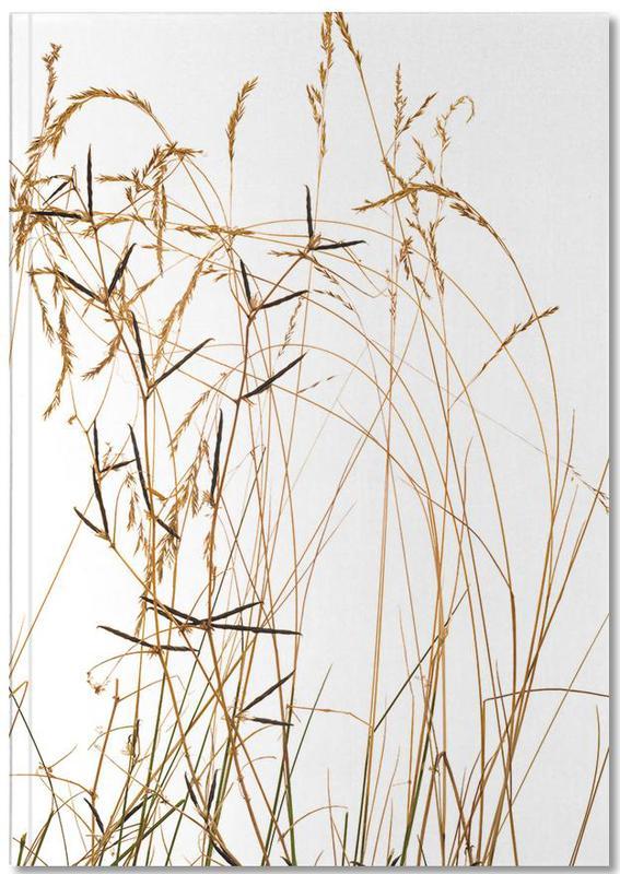 Flora Gras Premium Notizbuch   Dekoration > Accessoires   Mehrfarbig   Papier