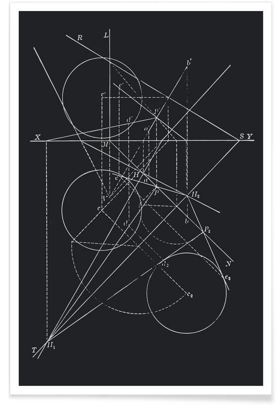 Compasses Premium Poster | Dekoration > Bilder und Rahmen > Poster | Mehrfarbig