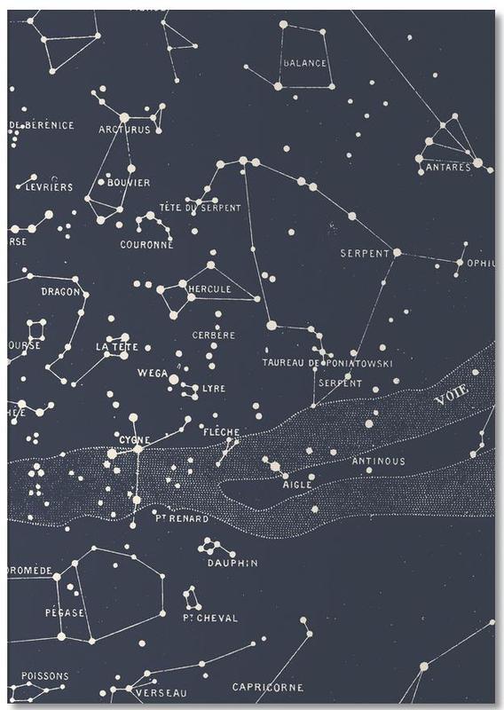Carte du Ciel I Notizblock | Dekoration > Accessoires | Mehrfarbig | Papier