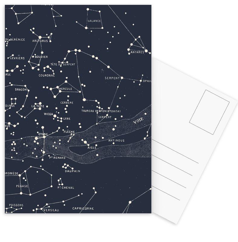 Carte du Ciel I Postcard Set