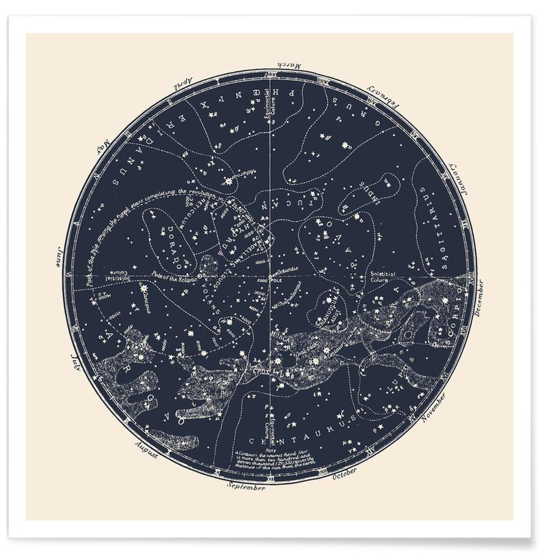 Southern Constellations -Poster
