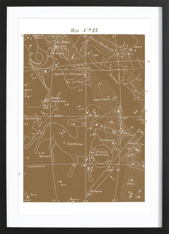 Sagittarius Gold ingelijste print
