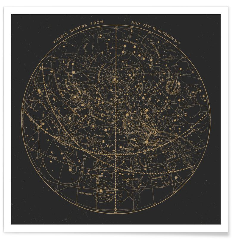 Visible Heavens Dark -Poster