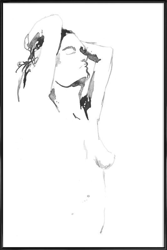 NUDE 4-2 ingelijste poster