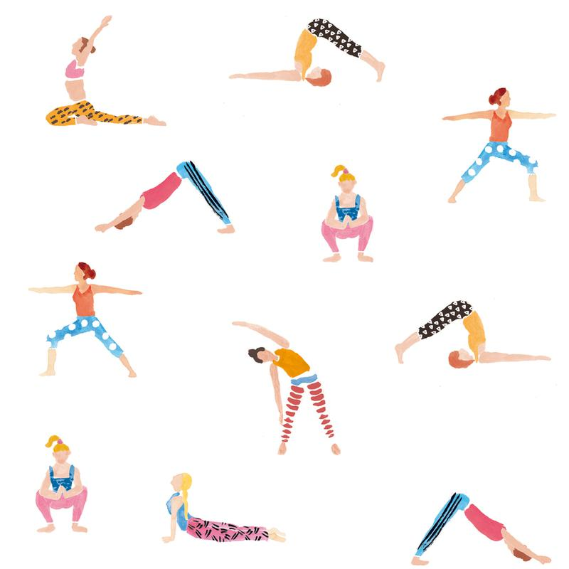 Yoga People -Alubild