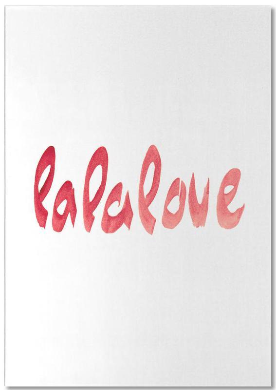 Lalalove Type bloc-notes