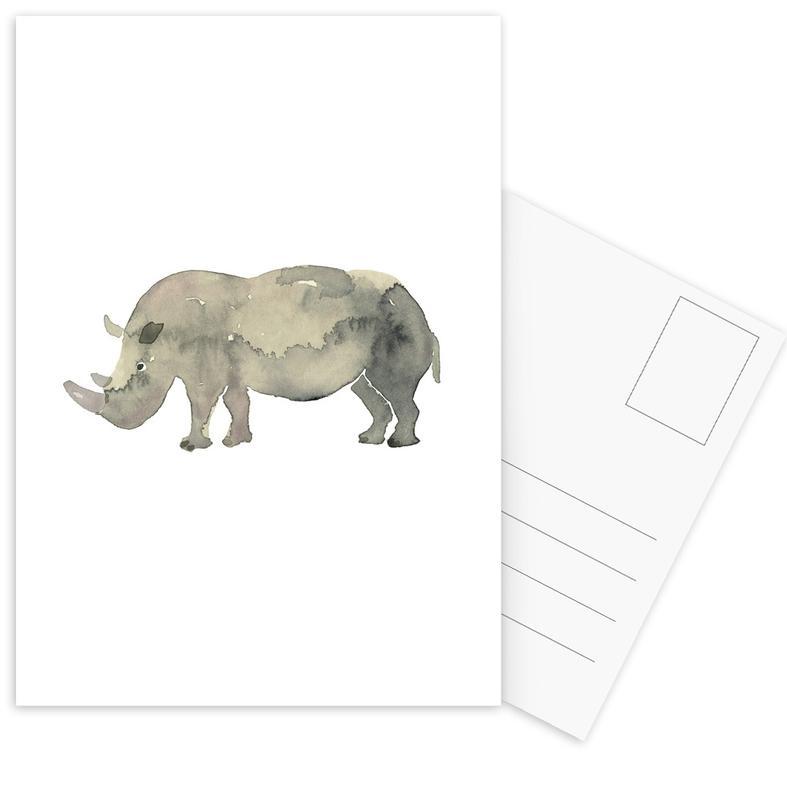 Rhino Postkartenset