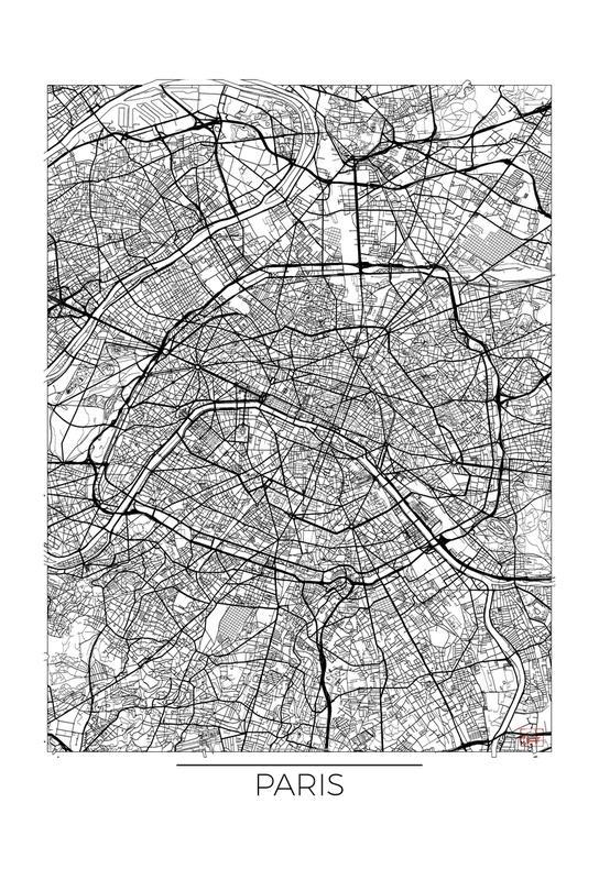 Paris Minimal -Alubild
