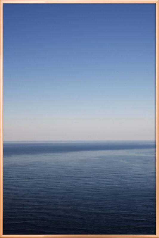 The Open Ocean 1 Poster im Alurahmen | Dekoration > Bilder und Rahmen > Poster