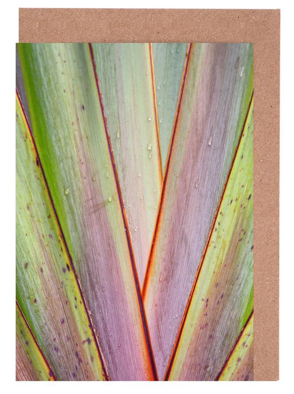 Flax Pattern -Grußkarten-Set