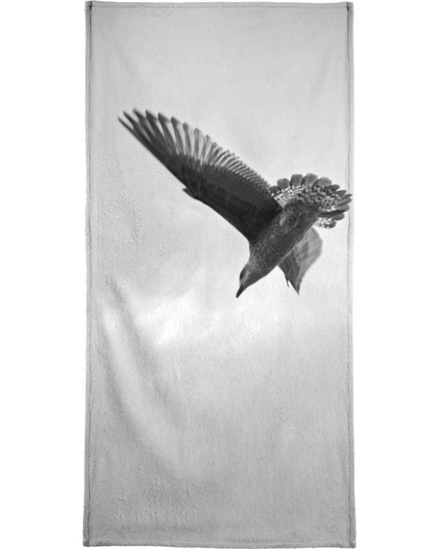 A seagull Bath Towel
