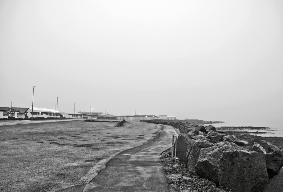 Reykjavík shore alu dibond