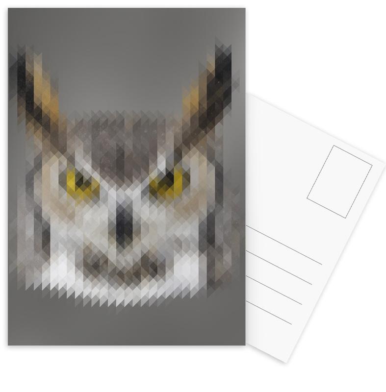 Owl Postcard Set