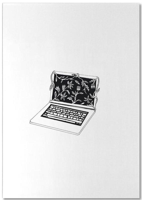 Leave Laptop Notepad
