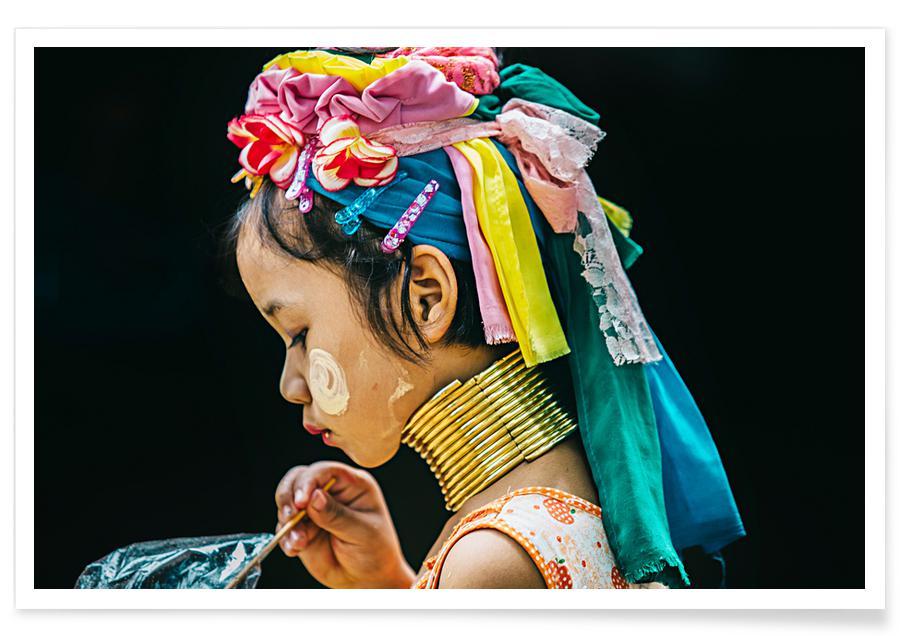 Karen Premium Poster | Dekoration > Bilder und Rahmen > Poster | Mehrfarbig