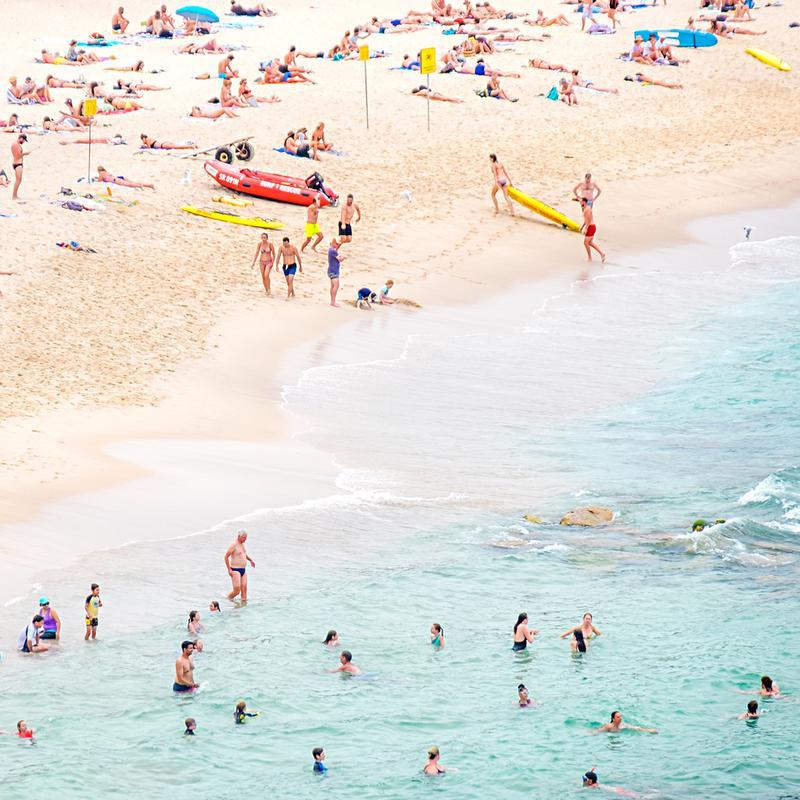 Beach alu dibond