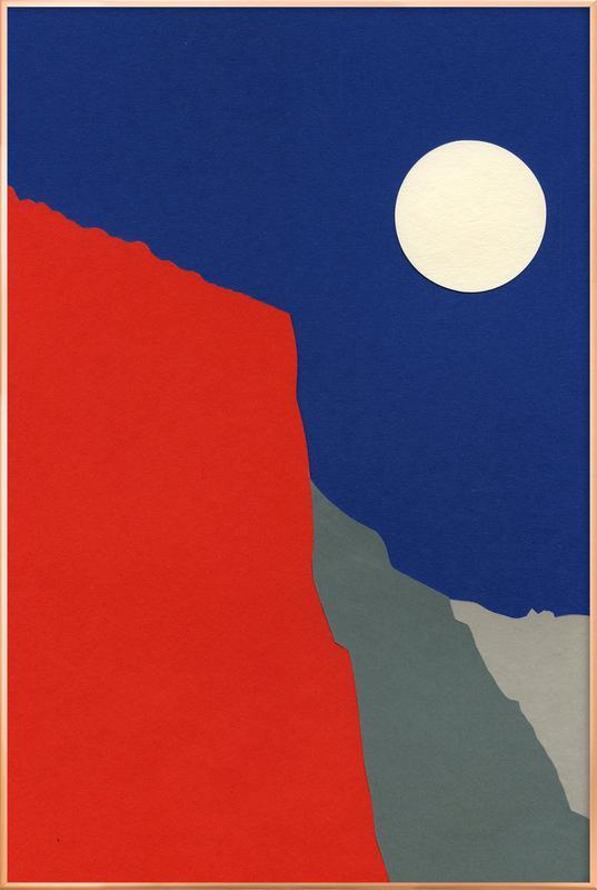 El Capitan -Poster im Alurahmen