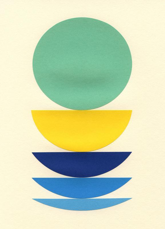 Five Circles -Leinwandbild