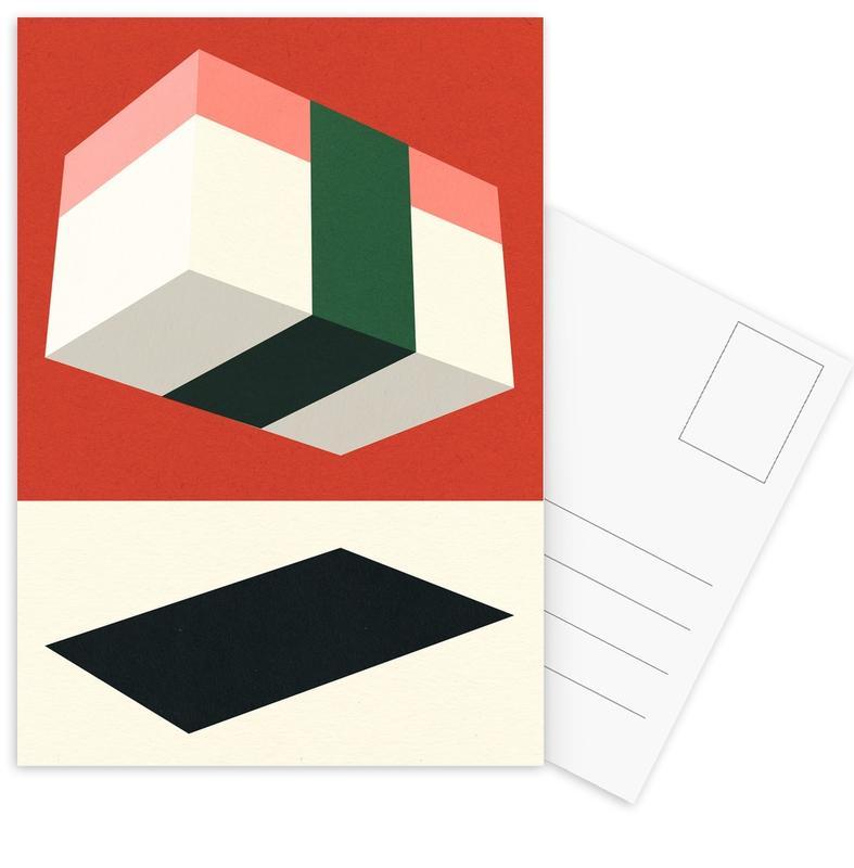 Flying Nigiri -Postkartenset
