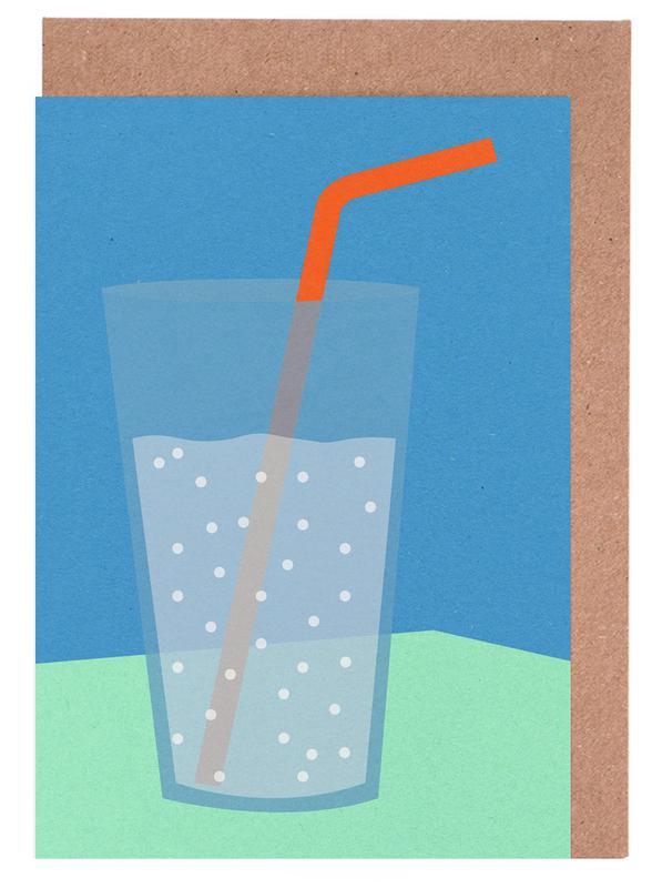 Sparkling Lemonade -Grußkarten-Set