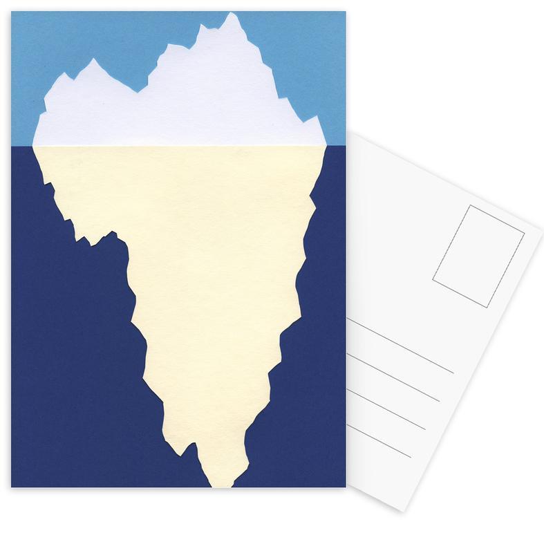 Iceberg Postkartenset