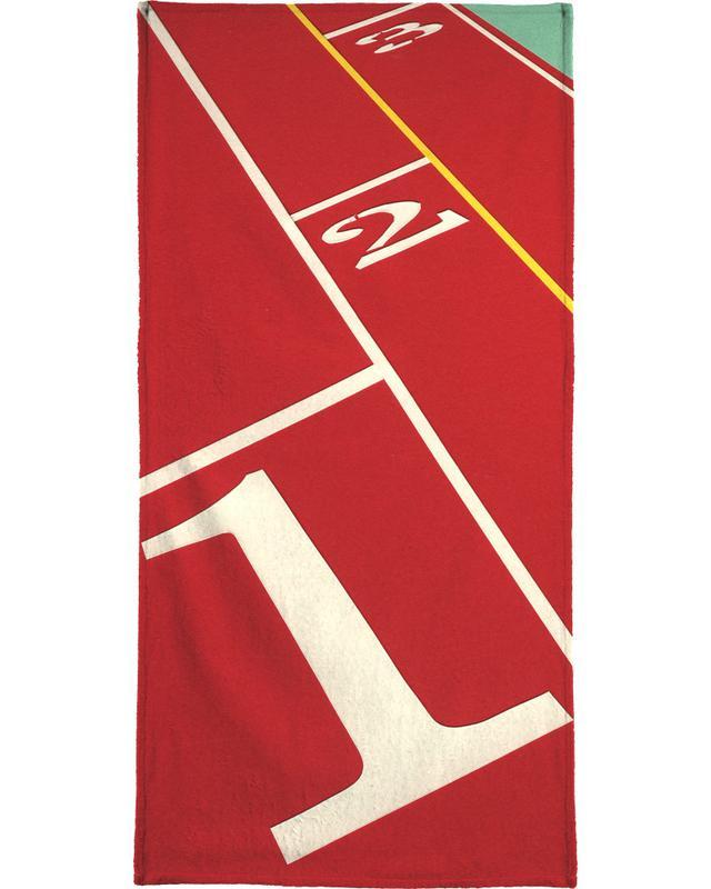Running Track 123 -Handtuch