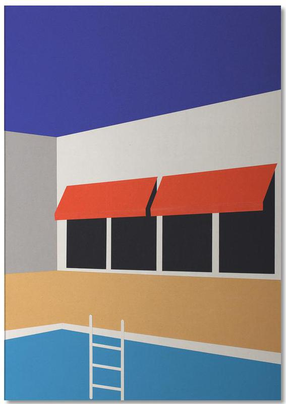 Palm Springs Pool House -Notizblock
