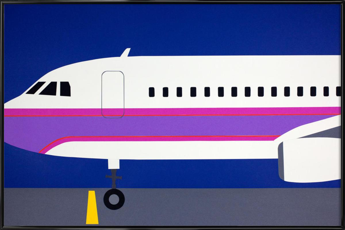 Airplane A320 Gerahmtes Poster