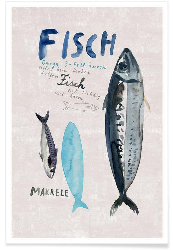 Fisch -Poster