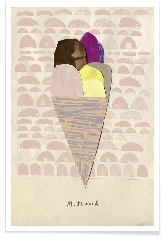 Eis am Mittwoch -Poster