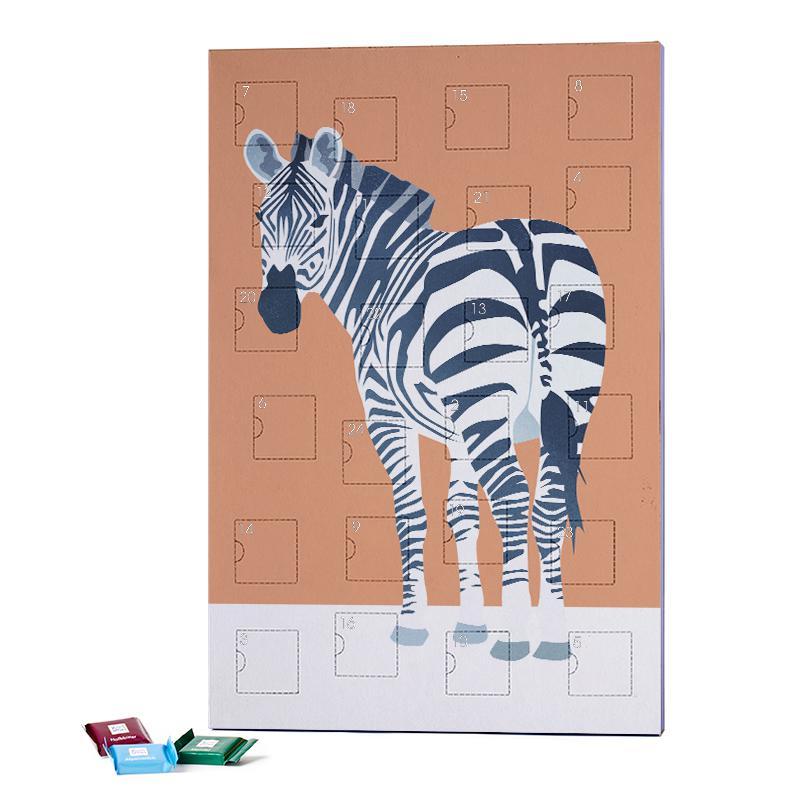 The Zebra Look 2019 Chocolate Advent Calendar - Ritter Sport